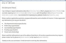 Formal Letter Asking Information college study program information requesting letter formal word