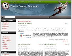 free joomla 1 5 x templates football arena by themza