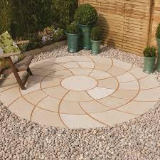 Circular Patio Kit by Garden Design Ideas Bradstone