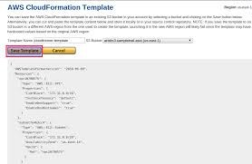 using aws cloudformer to create template of existing