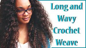 hair for crochet weave long and wavy crochet weave youtube