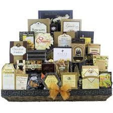 christmas gift baskets free shipping great arrivals the vip gourmet christmas gift basket