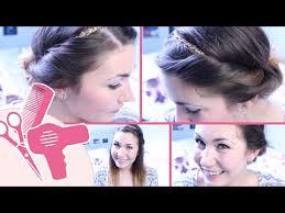 Frisuren Anleitung Mit Haarband by Einfache Frisuren Mit Haarband Hairbst