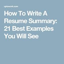 Resume Professional Statement Examples by Top 25 Best Resume Examples Ideas On Pinterest Resume Ideas