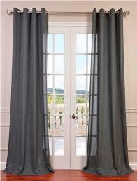 Grommet Burlap Curtains Adorable Curtains Without Rods And Best 25 Cafe Curtain Rods Ideas