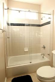 Bathtubs With Glass Shower Doors Fancy Design Ideas Glass Shower Doors For Tub Tubs Frameless