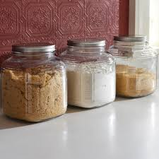 anchor hocking 3 piece cracker jar canister set glass sets of 4