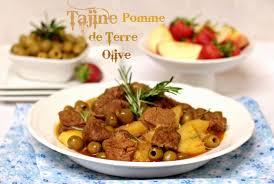 recettes cuisine plus tajine de pomme de terre aux olives