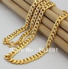 fashion necklace gold images Buy ne1562 new fashion 8mm gold chain necklace jpg