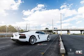 all white lamborghini white on white lamborghini aventador with vellano vkk wheels