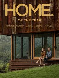 architects lance and nicola herbst on the cover of home magazine u0027s