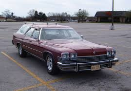green station wagon with wood paneling curbside classic 1974 buick estate wagon u2013 hold the fake wood please