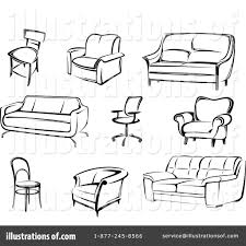 Office Chair Clipart Furniture Clipart 1096835 Illustration By Vector Tradition Sm
