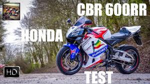 honda cbr two wheeler honda cbr 600rr test mein neues motorrad youtube