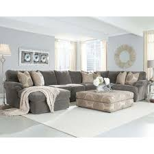 Light Blue Leather Sectional Sofa Grey Sectional With Light Blue Walls Bradley Sectional Not A Fan