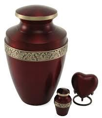 creamation urns crimson cremation urn