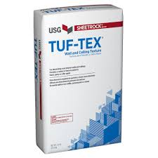 interior walls home depot sheetrock tuf tex 50 lb flat white wall and ceiling texture 540901