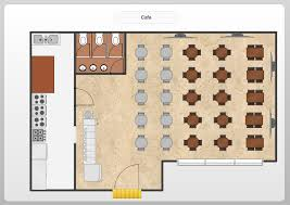 conceptdraw samples floor plan and landscape design sample 23 floor plan cafe