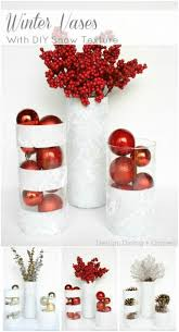 How To Decorate Flower Vase 40 Festive Dollar Store Christmas Decorations You Can Easily Diy