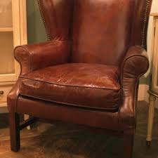 High Back Leather Armchair High Back Winged Leather Armchairs Chair And Sofa Blog