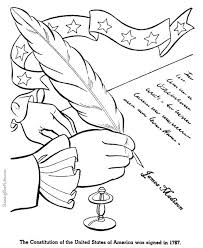 united states symbols coloring pages united states constitution history timeline for kids in coloring