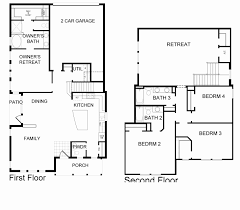 Celebration Homes Floor Plans by Spring Lake At Celebration New Homes By David Weekley