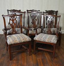 Chippendale Dining Room Chairs Ethan Allen Chippendale Style Dining Room Chairs Ebth