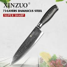 damascus kitchen knives damascus kitchen knife xinzuo 8 chef knife damascus merchant
