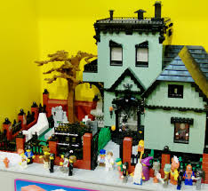 house crypt haunted monster truck halloween lego fun lego pinterest lego haunted house lego