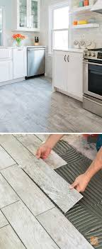 wood look tile combines the warmth of wood with the