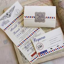 seal and send invitations air mail seal and send wedding invitation self mailer wedding