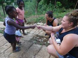 Sleep Number Bed Commercial In The Jungle Friends Of Britney Gengel Visit Orphanage In Haiti News
