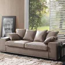 canape tissu taupe canapé tissu 2 places taupe nancy achat vente canapé sofa