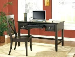 modern black computer desk black home office desk expominera2017 com