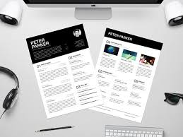 resume templates 2016 free 10 all time best free resume cv templates in word psd ai