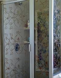 etched glass shower door designs etched glass shower doors interior beautiful etched shower