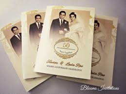 50th wedding invitations handmade custom wedding invitation malaysia wedding stationery