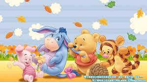 winnie pooh tigger piglet eeyore babies cartoon