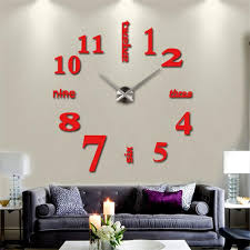 Home Decor Wall Clock Home Decor U003e U003eclocks U003e U003ewall Clocks 3d Diy Wall Watch Mordern Horloge