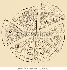 illustrated pizza stock images royalty free images u0026 vectors