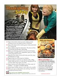 thanksgiving day cooking safety tips nifast