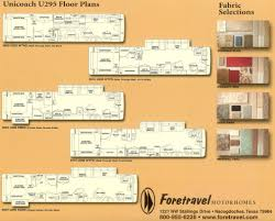class a motorhome floor plans foretravel brochures specifications and manuals information links