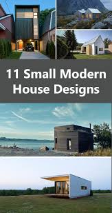 Modern House Blueprints 11 Small Modern House Designs From Around The World Contemporist