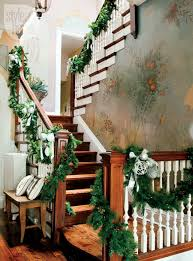 Christmas Banisters 100 Awesome Christmas Stairs Decoration Ideas Digsdigs