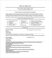 Carpenter Resume Sample by Carpenter Resume Example