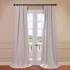 White Ruffle Curtain Panels White Ruffle Blackout Curtains Wayfair