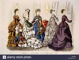 godey s book women s fashions from godey s s book for february 1870