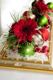 648 best christmas centerpieces u0026 tablescapes images on pinterest