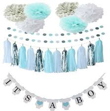 it s a boy decorations baby boy shower or gender reveal decorations with onesie it