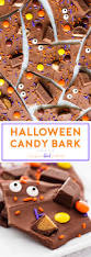 halloween candy bark if you give a blonde a kitchen